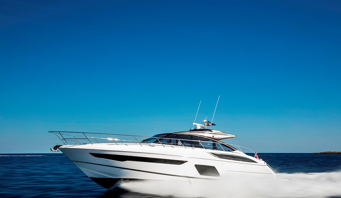 Princess Yacht V58 Open Yachts Dealers in Mumbai India