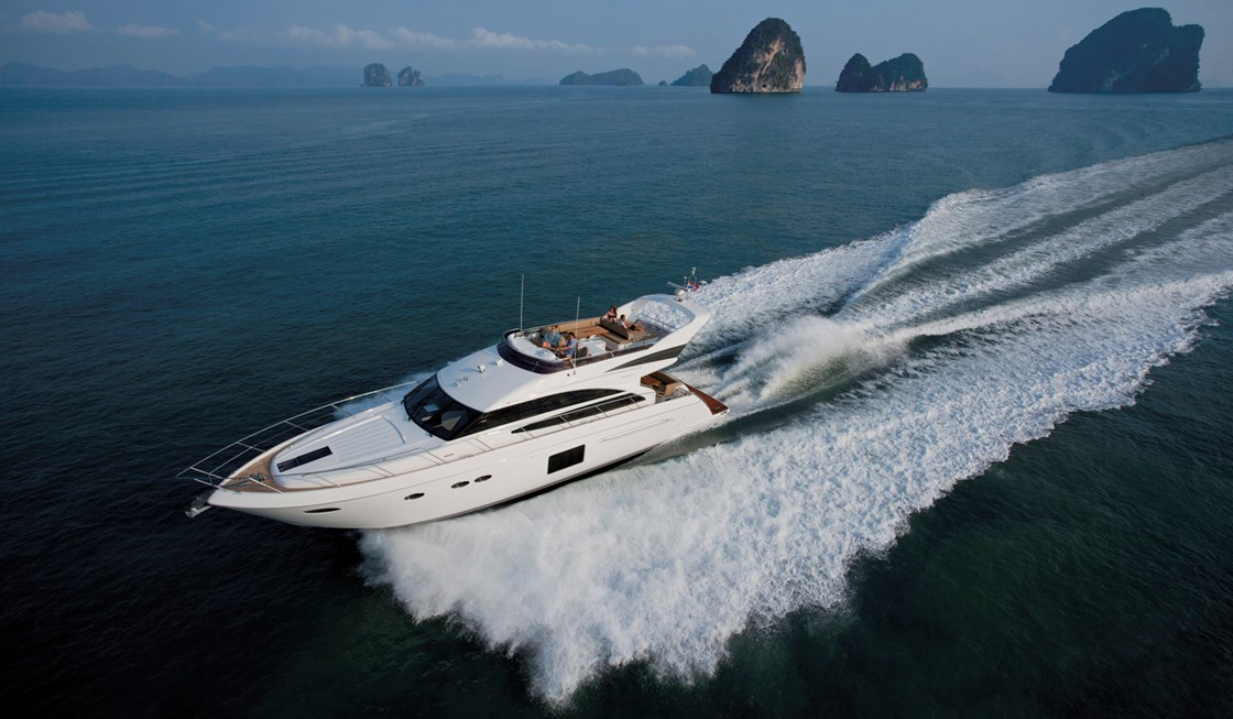 Princess Yacht 64 Motor Yachts Dealers in Mumbai India
