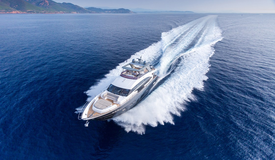 Princess Yacht 75 Motor Yachts Dealers in Mumbai India