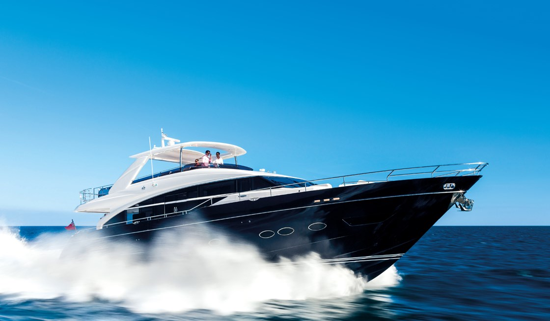 Princess 88 Motor Yachts Dealers in Mumbai India